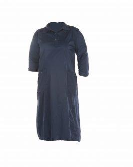 שמלת יום יום ייצוגית צנועה מידות גדולות - דגם